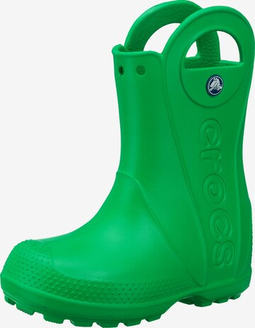 Crocs Gummistiefel 'Handle' in Grün