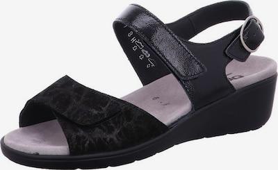 SEMLER Sandalen in schwarz, Produktansicht