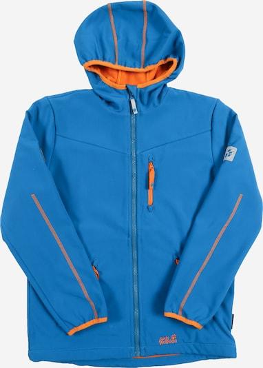 JACK WOLFSKIN Softshelljacke 'Whirlwind' in blau / orange, Produktansicht