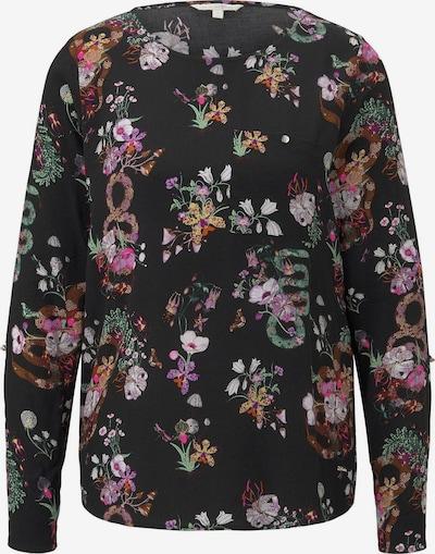 TOM TAILOR DENIM Shirt in mischfarben / schwarz, Produktansicht