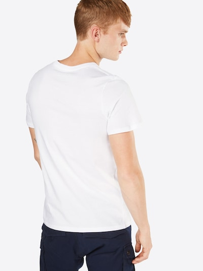 JACK & JONES Shirt in weiß: Rückansicht