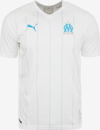 PUMA Trikot 'Olympique Marseille' in neonblau / weiß, Produktansicht