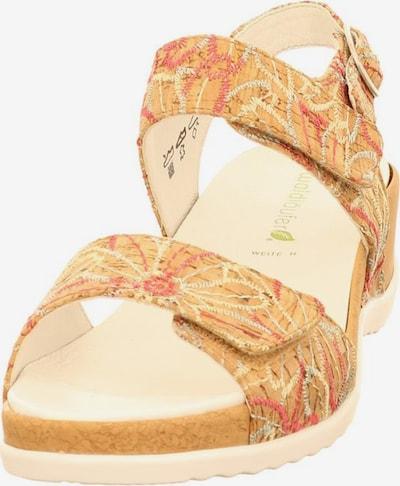 WALDLÄUFER Sandale in beige / sand / lachs, Produktansicht