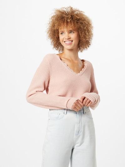 VILA Pullover in rosa, Modelansicht