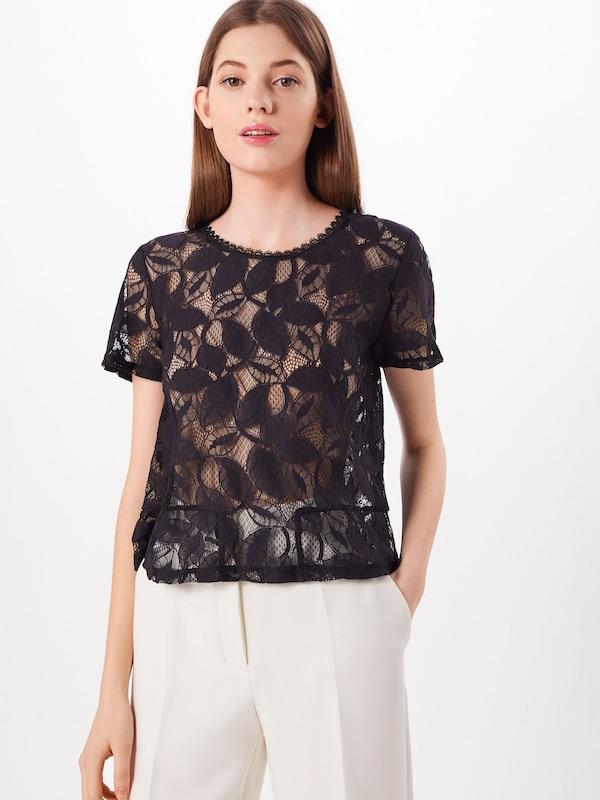 Vila T 'vijessole Top' shirt S Noir s En 35ARqjL4