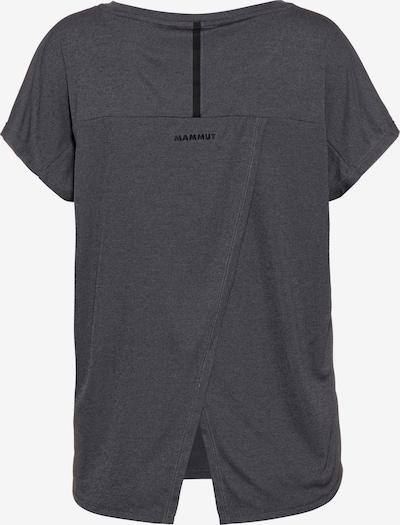 MAMMUT T-Shirt 'Pali' in anthrazit, Produktansicht