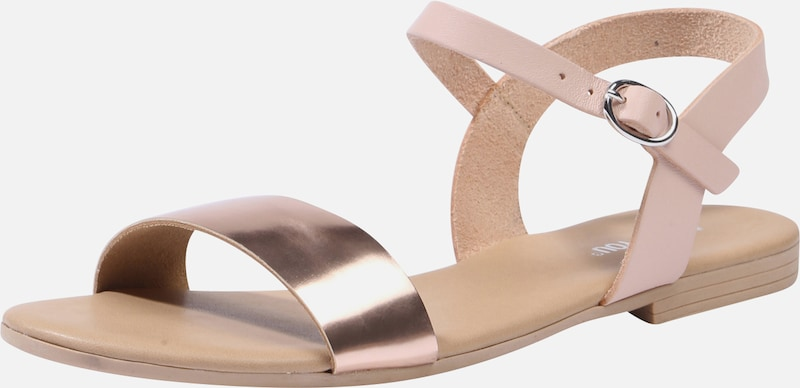 ABOUT YOU Riemchensandalen 'JENNIFER' in rosegold, Produktansicht