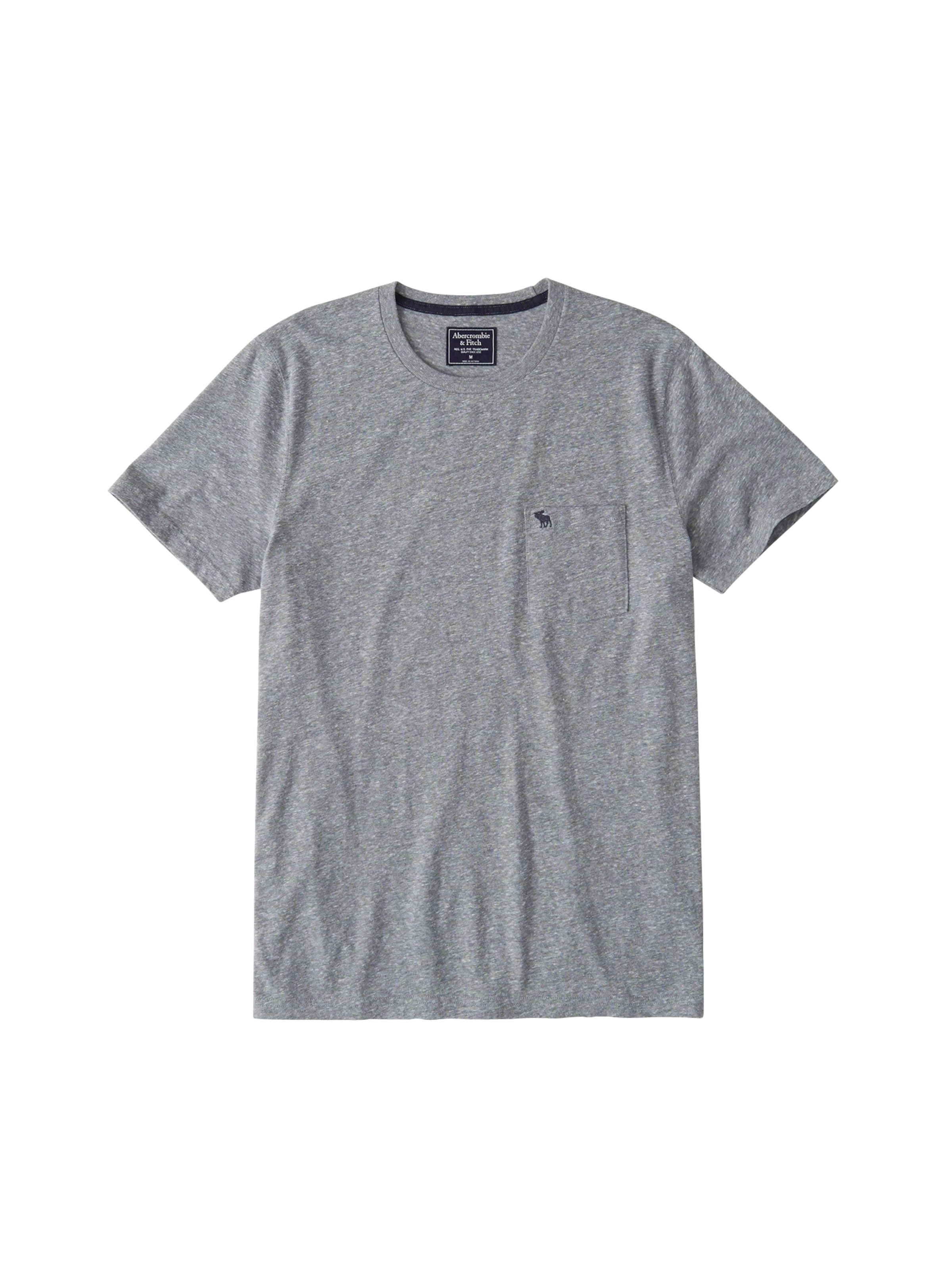 Abercrombieamp; shirt En Fitch Neutral' T Gris 'crew y8nPvwm0ON