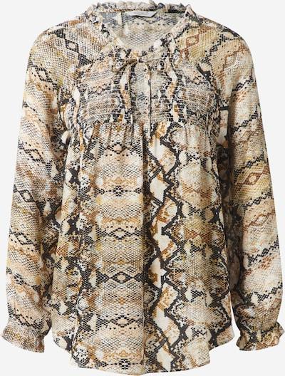 Frogbox Bluse in beige / mischfarben, Produktansicht