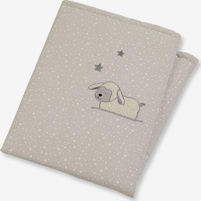 Kūdikio antklodė 'Stanley' iš STERNTALER , spalva - pilka / balta, Prekių apžvalga
