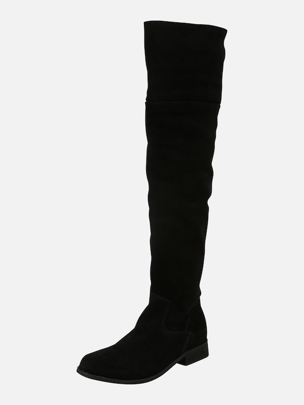 Zign Overknee laarzen. Met blokhak. Te combineren met alle