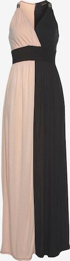 LASCANA Kleid in altrosa / schwarz, Produktansicht