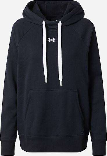 UNDER ARMOUR Pollover in schwarz / weiß, Produktansicht