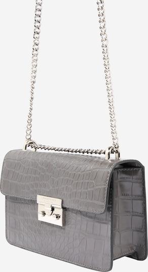 Seidenfelt Manufaktur Tasche 'PITEA Croco' in grau, Produktansicht