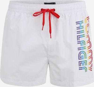 Tommy Hilfiger Underwear Badeshorts in mischfarben / weiß, Produktansicht