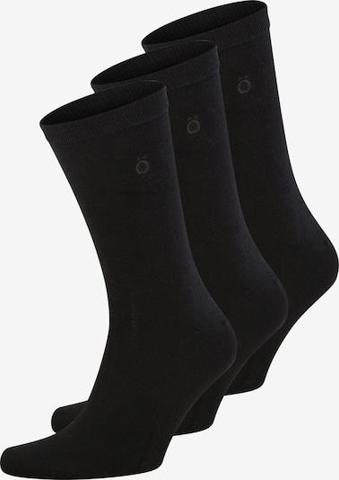 Resteröds Sokken 'Bamboo' in de kleur Zwart, Productweergave