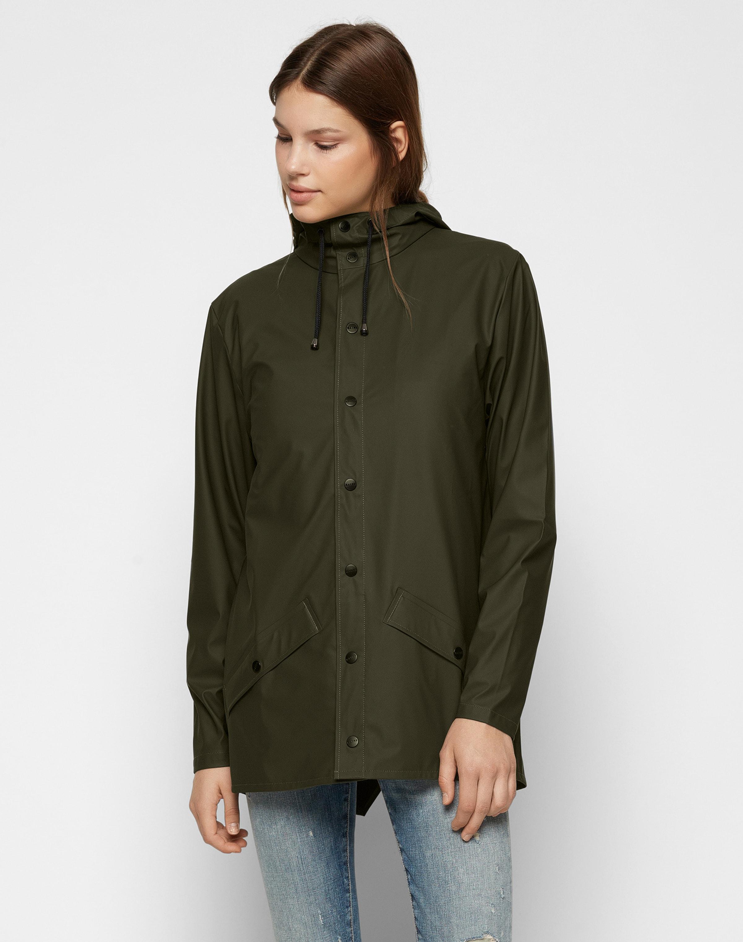 Foncé Vert Fonctionnelle En Veste Rains vN8nm0wOy