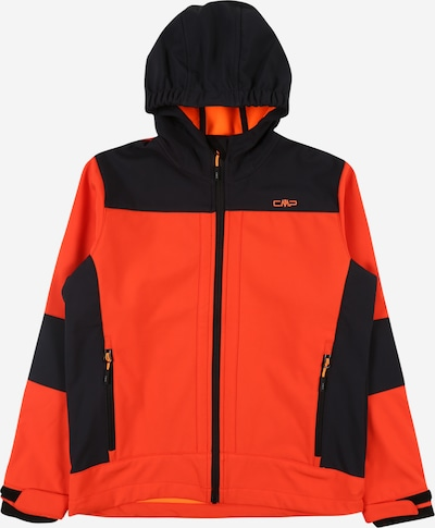 CMP Softshelljacke in orange / schwarz, Produktansicht