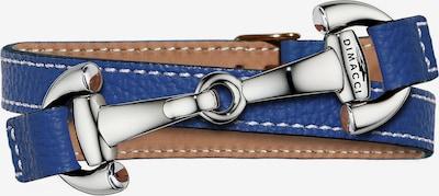 Dimacci Armband 'Alba' in blau / silber, Produktansicht
