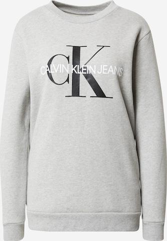 Calvin Klein Jeans Sweatshirt in Grau