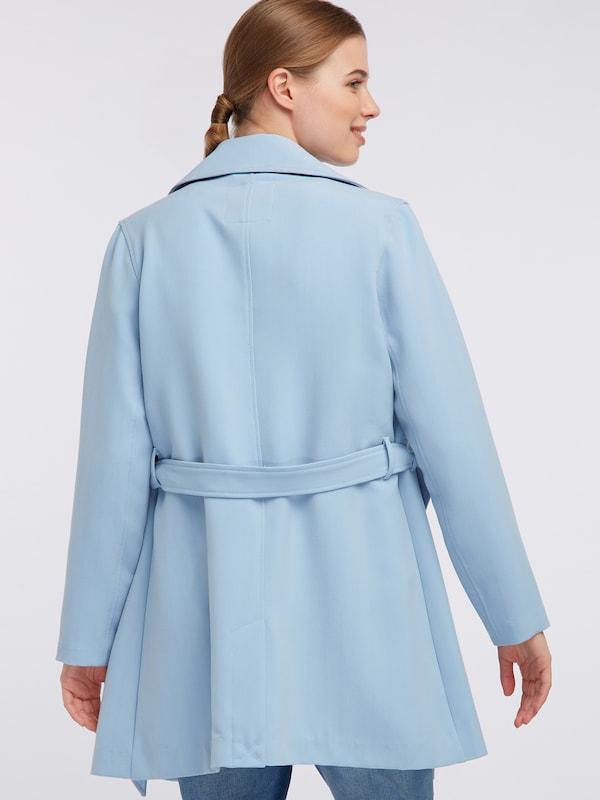 Nyc Bleu saison Clair Fashion En Manteau Mi Broadway 'natosha' dBrCexoW