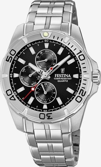 FESTINA Uhr 'F20445/3' in schwarz / silber, Produktansicht