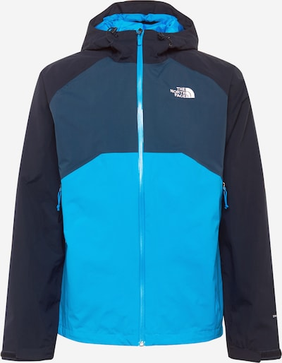 THE NORTH FACE Outdoorjas 'Stratos' in de kleur Blauw / Lichtblauw / Donkerblauw, Productweergave