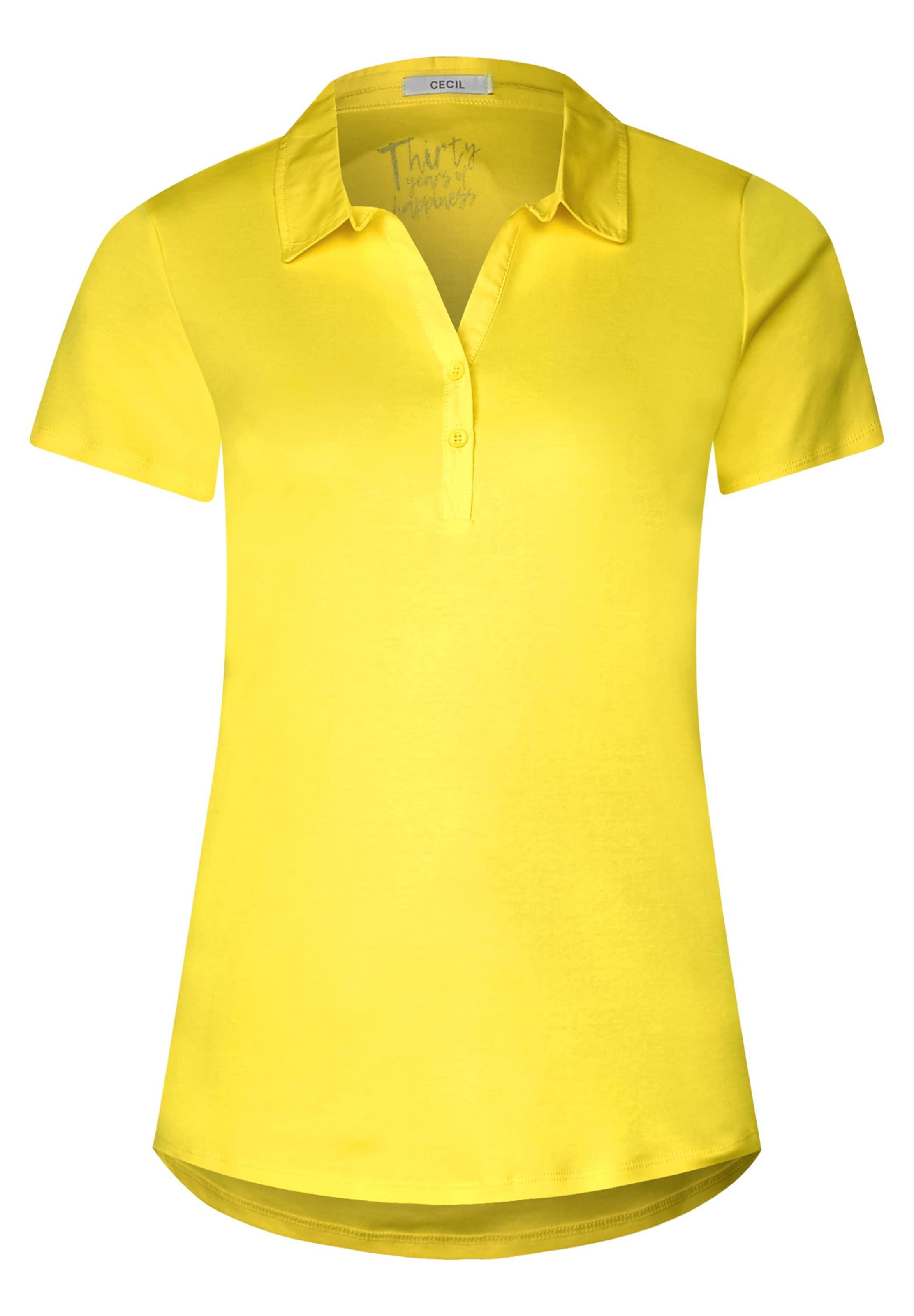 'nele' shirt Cecil In Polo Gelb OkZPXiuT