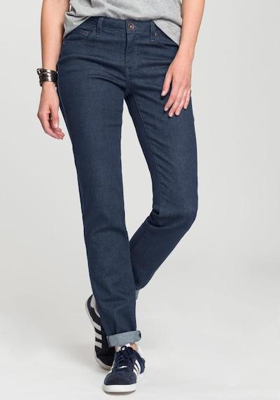 HIS JEANS Straight-Jeans in blue denim, Modelansicht