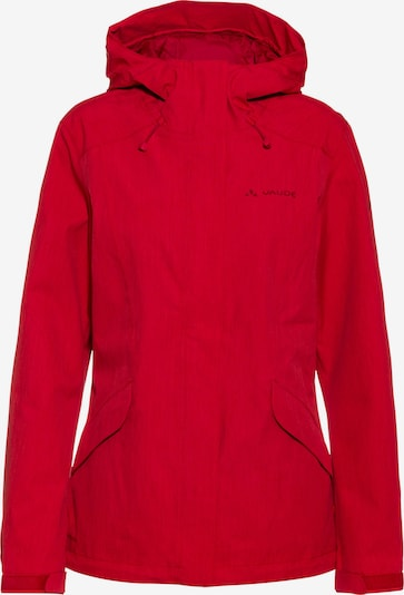 VAUDE Regenjacke 'Rosemoor' in rot, Produktansicht