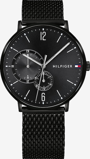 TOMMY HILFIGER Multifunktionsuhr 'CASUAL' in schwarz, Produktansicht