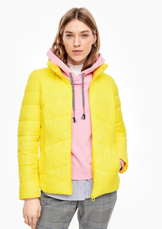 s.Oliver Winterjacke in gelb   ABOUT YOU
