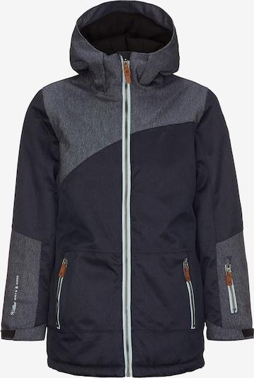 KILLTEC Skijacke 'ADETTA' in kobaltblau / graumeliert, Produktansicht
