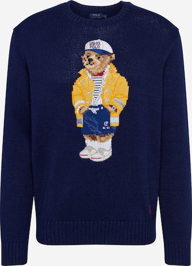 POLO RALPH LAUREN Pulover 'LS CN-LONG SLEEVE-SWEATER' | mornarska barva, Prikaz izdelka