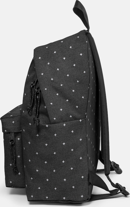 EASTPAK Rucksack 'PADDED PAK'R white crosses'