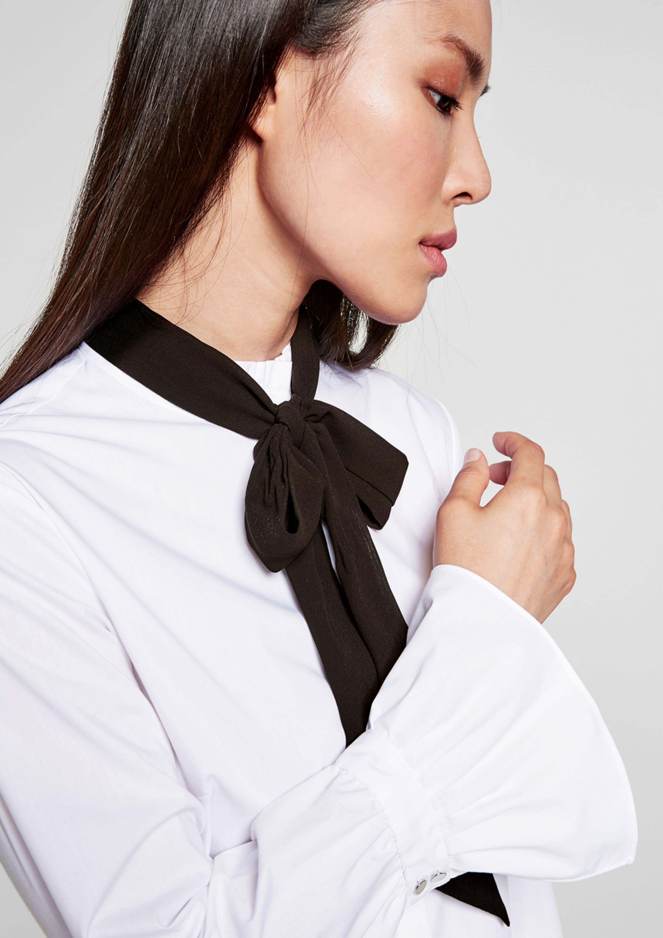 Bluse oliver Weiß S Black In Label UMSpzV