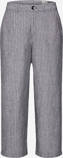 Herrlicher Hose 'Starlight' in grau / weiß: Frontalansicht