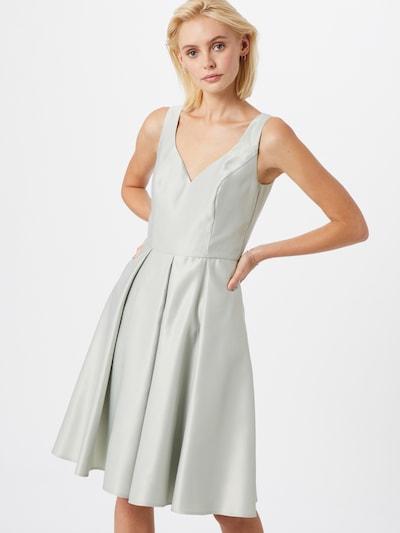 SWING Kleid in elfenbein / silbergrau, Modelansicht