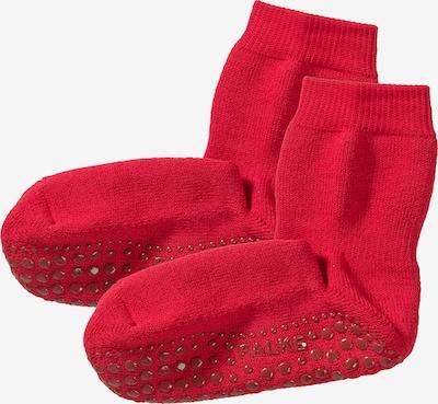 FALKE Haussocken 'Catspads' in rot, Produktansicht