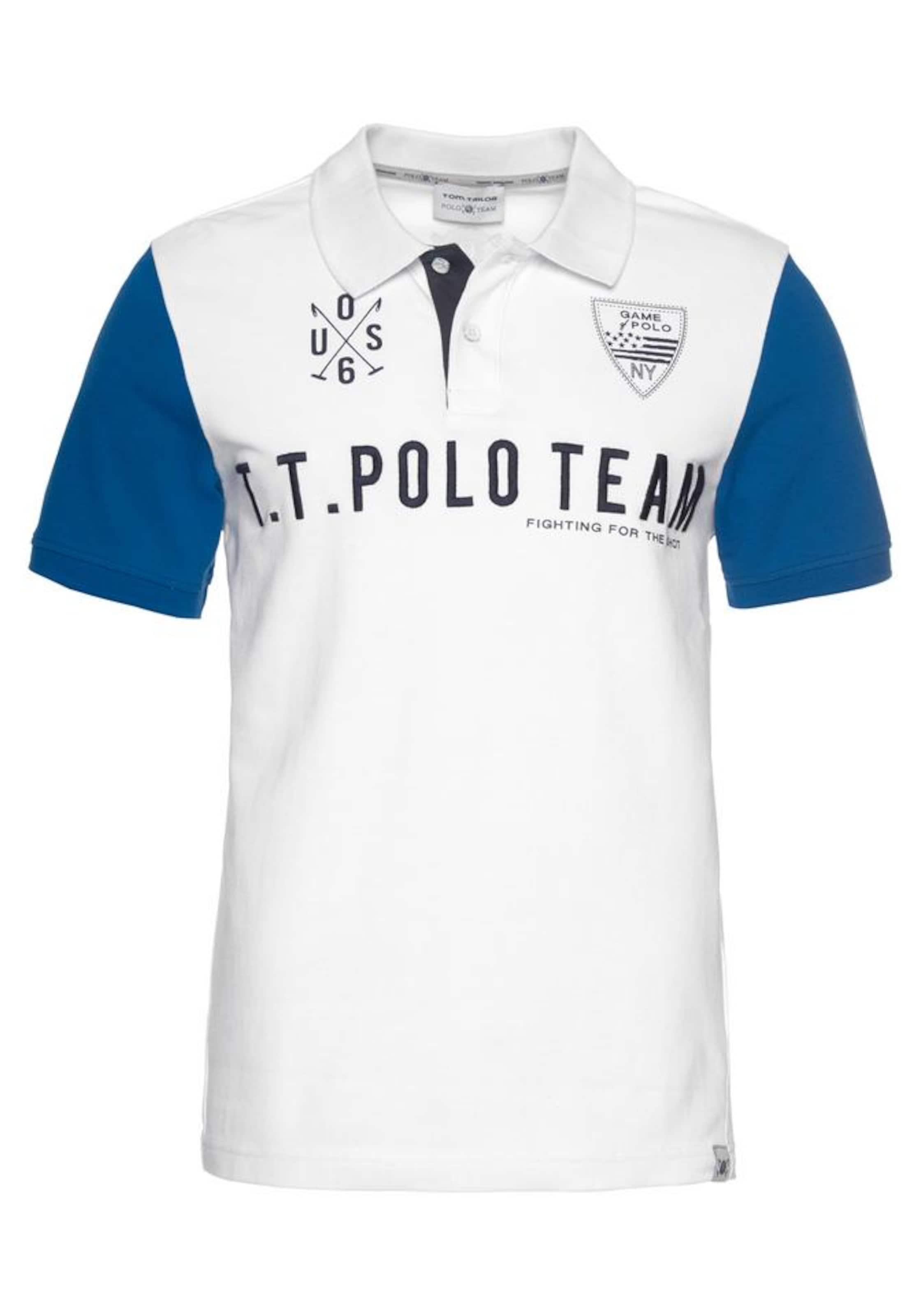 Tailor In Team Poloshirt Polo BlauWeiß Tom uOiwkXTPZ