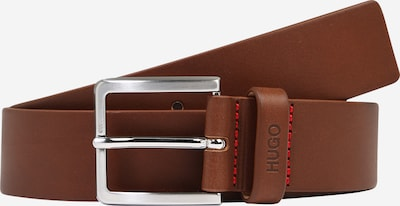 HUGO Belt 'Gionios' in brown / silver, Item view