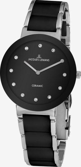 Jacques Lemans Uhr 'High-Tech Ceramic, 42-7G' in schwarz / silber, Produktansicht