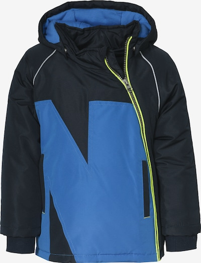 NAME IT Winterjacke in blau / schwarz, Produktansicht