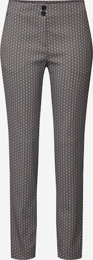 RENÉ LEZARD Hose 'F005 A' in schwarz / weiß: Frontalansicht