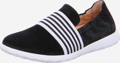 Ganter Slipper in schwarz / weiß, Produktansicht