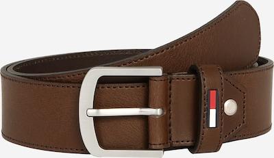 Tommy Jeans Opasek 'TJM RUBBER  INLAY ADJ BELT 4.0' - tmavě hnědá, Produkt