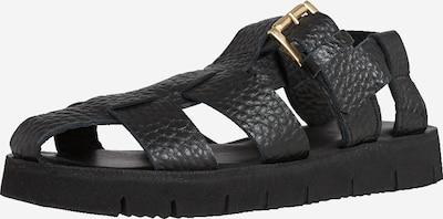 EDITED Sandale 'Patriz' in schwarz, Produktansicht