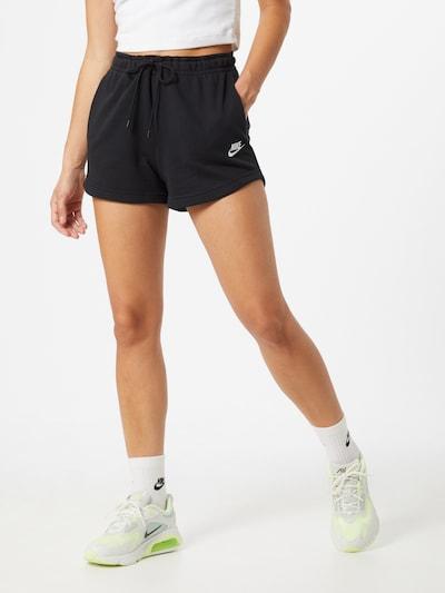 Nike Sportswear Trousers in black, View model