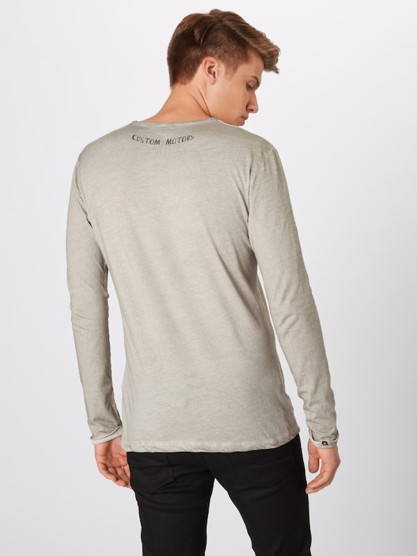 En Key Largo Greige 'mls Speed T Button' shirt 6gfbYy7