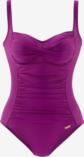 LASCANA Swimsuit in Fuchsia: Frontal view